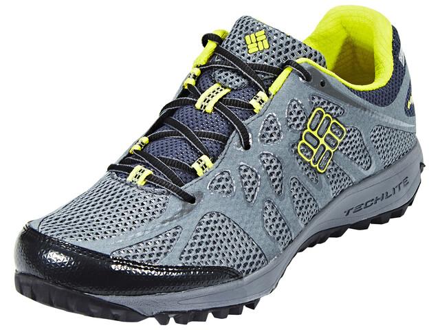 Columbia Conspiracy Titanium Outdry Shoes Men grey ash/zour